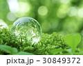 エコ ガラスの地球 エコロジーの写真 30849372
