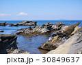 海 三浦海岸 岩の写真 30849637