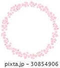 桜 背景 花びらのイラスト 30854906