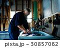 男性 シニア 藍染の写真 30857062