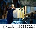 男性 シニア 藍染の写真 30857228