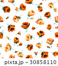 花 花柄 フローラルのイラスト 30858110