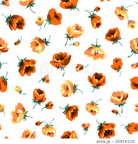 シームレスな花柄 30858110