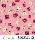 花 花柄 フローラルのイラスト 30858112