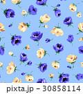 花 花柄 フローラルのイラスト 30858114