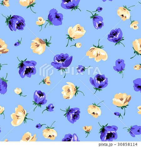 シームレスな花柄 30858114