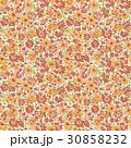 花 花柄 パターンのイラスト 30858232