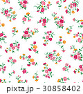 花 花柄 パターンのイラスト 30858402