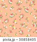 花 花柄 パターンのイラスト 30858405
