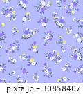 花 花柄 フローラルのイラスト 30858407