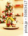 お菓子 サンタクロース 食べ物の写真 30863417