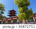 大阪・四天王寺の五重塔 30872751