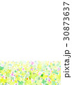 クローバー 水彩 カラフルのイラスト 30873637