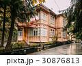 Borjomi, Samtskhe-Javakheti, Georgia. Old Wooden 30876813