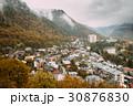 Borjomi, Samtskhe-Javakheti, Georgia. Aerial View 30876830