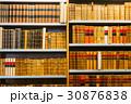 Aged Ancient Antique Old Vintage Books On A Shelfs 30876838