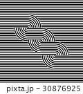 抽象的 パターン 柄のイラスト 30876925