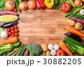 野菜 野菜集合 種類の写真 30882205