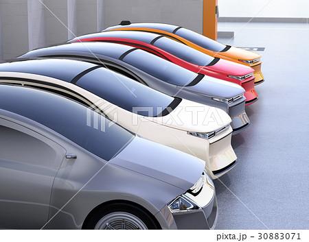 電気自動車専用駐車場のイメージ 30883071