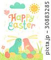 たまご 卵 イースターのイラスト 30883285