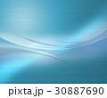 抽象模様 アブストラクト 曲線模様 30887690