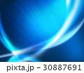 抽象模様 アブストラクト 曲線模様 30887691