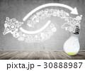 ビジネス 商売 電球の写真 30888987