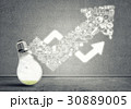 ビジネス 商売 電球の写真 30889005