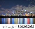 Skyline of Sydney CBD at night 30893268