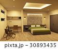 ベッドルーム 寝室 部屋のイラスト 30893435