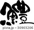 鱧 魚 筆文字のイラスト 30903206