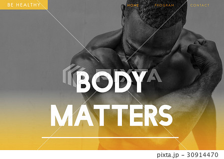 Build Your Own Body Strength Fitness Exercise Get FItの写真素材 [30914470] - PIXTA