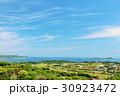 佐賀県 加部島からの青空風景 30923472