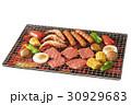 バーベキュー BBQ 網焼きの写真 30929683