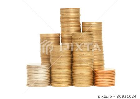 Stack of Coinsの写真素材 [30931024] - PIXTA