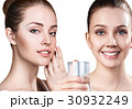 Women show useful properties of clean water. 30932249