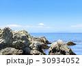 富士山 岩場 海 30934052