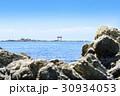 海に浮かぶ鳥居 名島 葉山 30934053