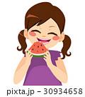 Girl Eating Watermelon 30934658