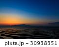 御輿来海岸の夕陽 30938351