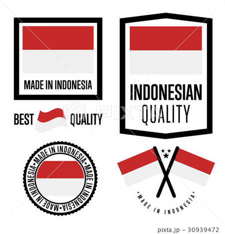 Indonesia quality label set for goods 30939472