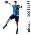 handball player teenager boy isolated 30943166