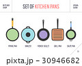 セット キッチン 厨房のイラスト 30946682