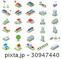 立体建物【セット素材・シリーズ】 30947440