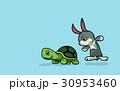 turtle and rabbit are running 30953460