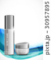 Skin moisturizer cosmetic ads template 30957895