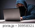ハッカー コンピュータ コンピューターの写真 30958321