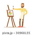 画伯 芸術家 アーティストのイラスト 30968135