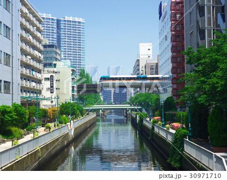 【東京都・2017年5月】 芝浦 都市風景 30971710
