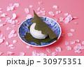 桜の花と柏餅 30975351